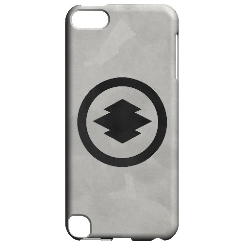 Geeks Designer Line (GDL) Slim Hard Case for Apple iPod Touch 5 - Hishi Kamon on Paper v.2