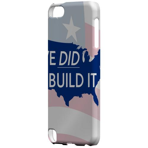 Geeks Designer Line (GDL) Slim Hard Case for Apple iPod Touch 5 - We Did Build It