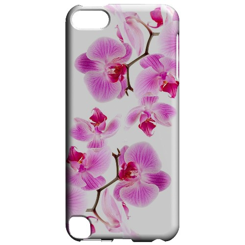 Geeks Designer Line (GDL) Slim Hard Case for Apple iPod Touch 5 - Orchids Orchids
