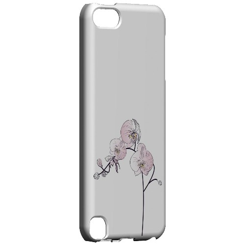 Geeks Designer Line (GDL) Slim Hard Case for Apple iPod Touch 5 - Lonely Orchid
