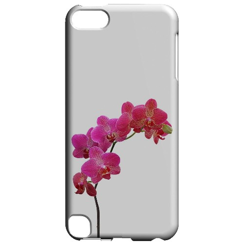 Geeks Designer Line (GDL) Slim Hard Case for Apple iPod Touch 5 - Hot Pink Orchid Branch