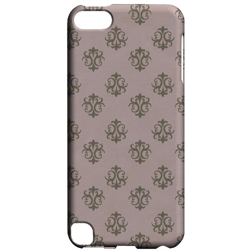 Geeks Designer Line (GDL) Slim Hard Case for Apple iPod Touch 5 - Ornamental African Violet