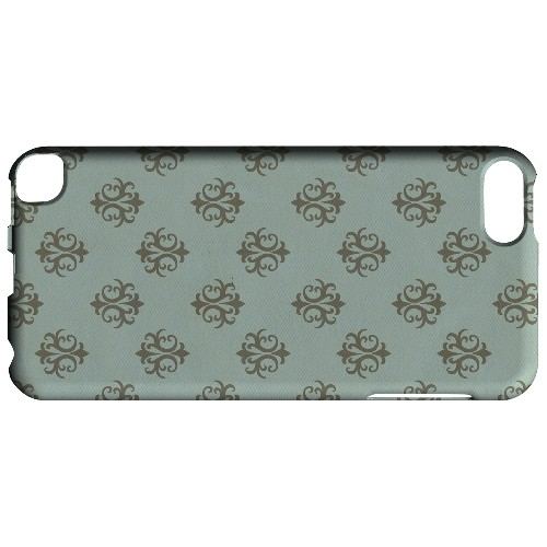 Geeks Designer Line (GDL) Slim Hard Case for Apple iPod Touch 5 - Ornamental Dusk Blue