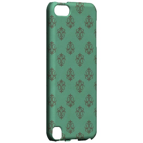 Geeks Designer Line (GDL) Slim Hard Case for Apple iPod Touch 5 - Ornamental Emerald