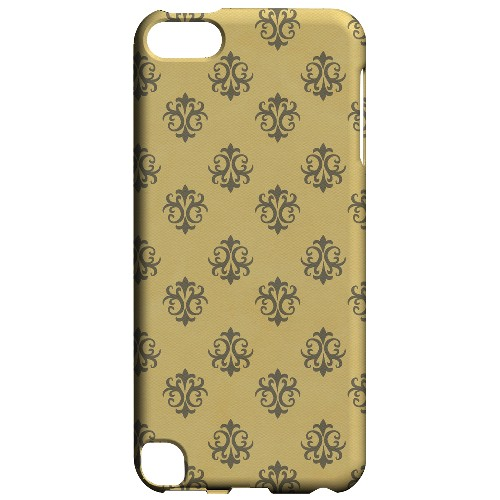 Geeks Designer Line (GDL) Slim Hard Case for Apple iPod Touch 5 - Ornamental Lemon Zest