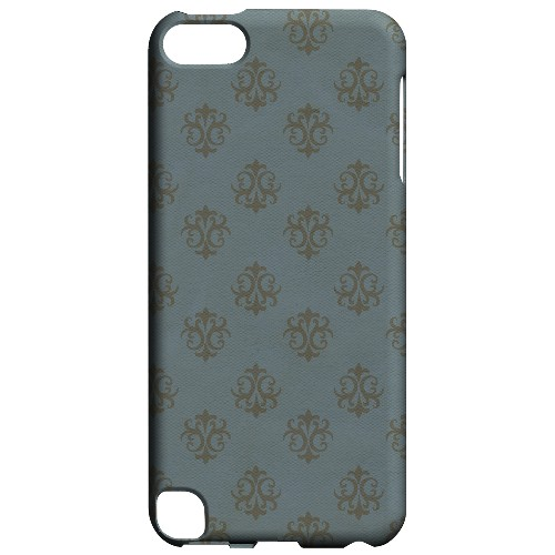 Geeks Designer Line (GDL) Slim Hard Case for Apple iPod Touch 5 - Ornamental Monaco Blue