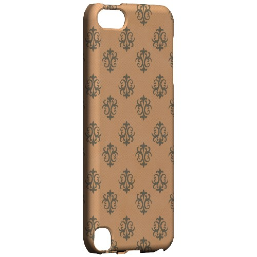 Geeks Designer Line (GDL) Slim Hard Case for Apple iPod Touch 5 - Ornamental Nectarine