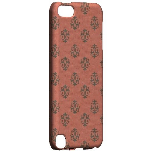 Geeks Designer Line (GDL) Slim Hard Case for Apple iPod Touch 5 - Ornamental Poppy Red