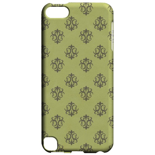 Geeks Designer Line (GDL) Slim Hard Case for Apple iPod Touch 5 - Ornamental Tender Shoots