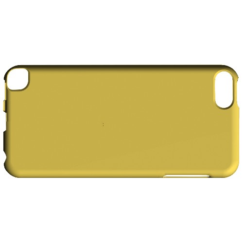 Geeks Designer Line (GDL) Slim Hard Case for Apple iPod Touch 5 - S13 Pantone Lemon Zest