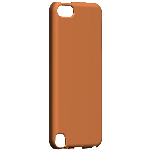 Geeks Designer Line (GDL) Slim Hard Case for Apple iPod Touch 5 - S13 Pantone Nectarine