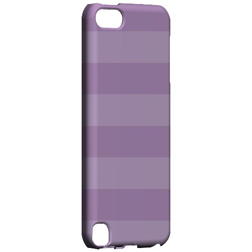 Geeks Designer Line (GDL) Slim Hard Case for Apple iPod Touch 5 - Stripes African Violet