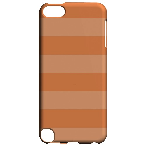 Geeks Designer Line (GDL) Slim Hard Case for Apple iPod Touch 5 - Stripes Nectarine