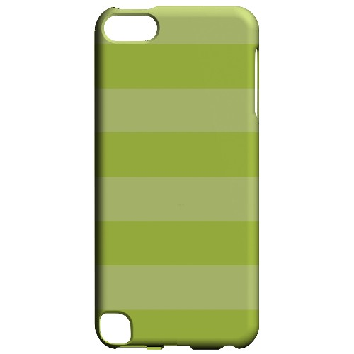 Geeks Designer Line (GDL) Slim Hard Case for Apple iPod Touch 5 - Stripes Tender Shoots