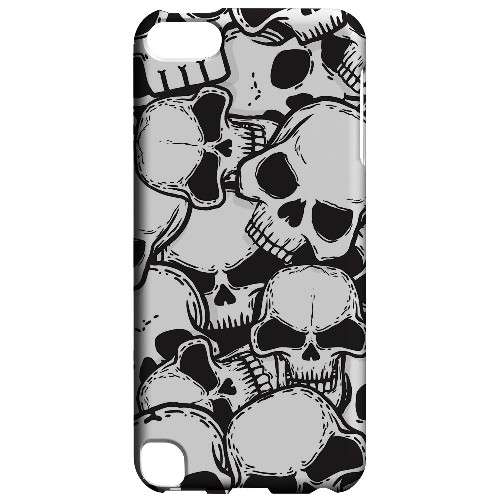 Geeks Designer Line (GDL) Slim Hard Case for Apple iPod Touch 5 - Doom Skulls