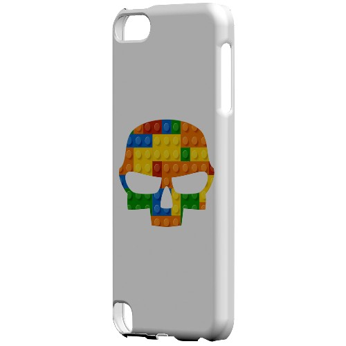 Geeks Designer Line (GDL) Slim Hard Case for Apple iPod Touch 5 - Blocks Fatskull