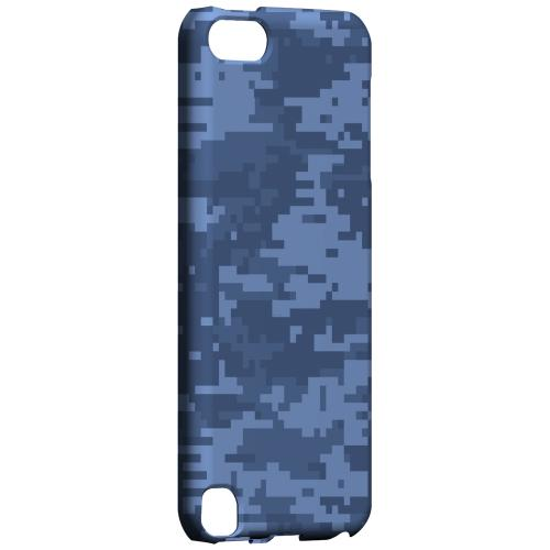 Geeks Designer Line (GDL) Slim Hard Case for Apple iPod Touch 5 - Blue Digital Camouflage
