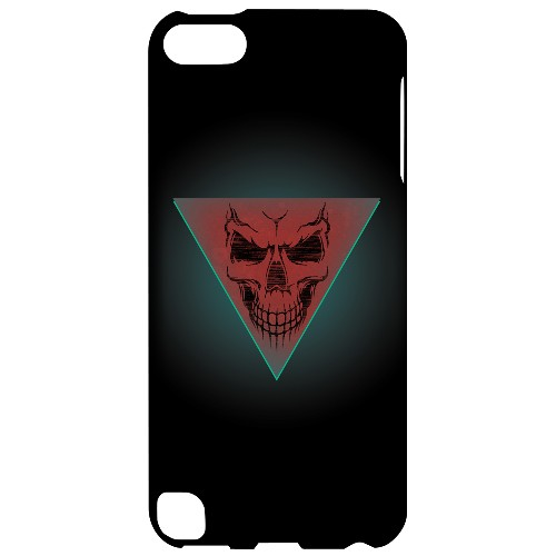 Geeks Designer Line (GDL) Slim Hard Case for Apple iPod Touch 5 - Dead Triangle