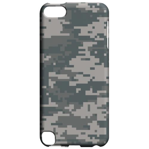 Geeks Designer Line (GDL) Slim Hard Case for Apple iPod Touch 5 - Gray Digital Camouflage