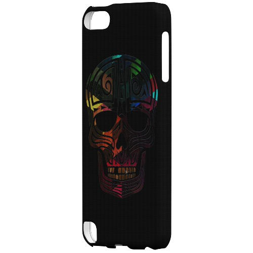 Geeks Designer Line (GDL) Slim Hard Case for Apple iPod Touch 5 - Rapero Muerto Geometric Color on Mesh