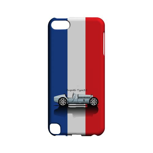 Bugatti Type 35S on Blue/ White/ Red - Geeks Designer Line Auto Series Hard Case for Apple iPod Touch 5
