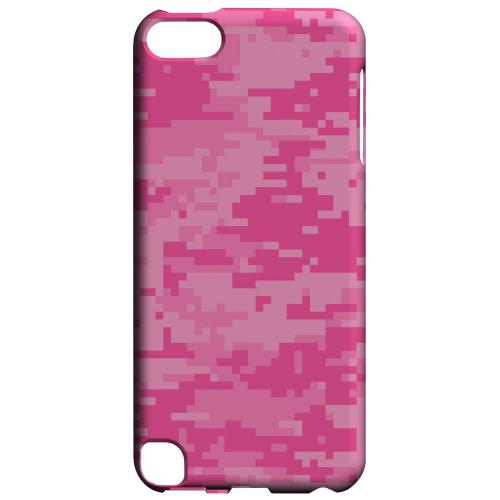 Geeks Designer Line (GDL) Slim Hard Case for Apple iPod Touch 5 - Pink Digital Camouflage