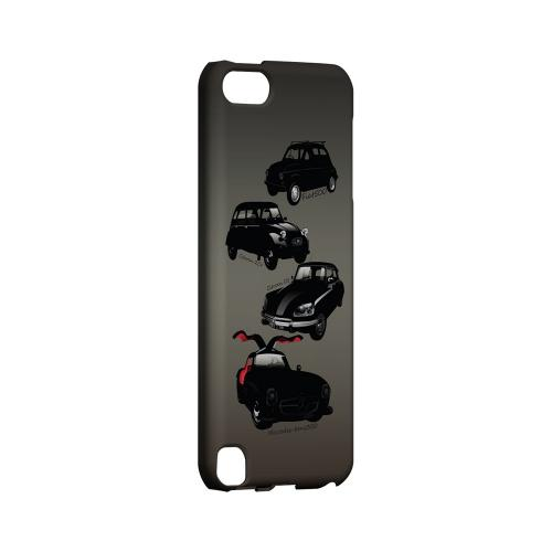 Classic Euro Cars Fade - Geeks Designer Line Auto Series Hard Case for Apple iPod Touch 5