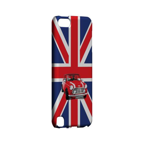 Solo Mini Cooper on Union Jack - Geeks Designer Line Auto Series Hard Case for Apple iPod Touch 5
