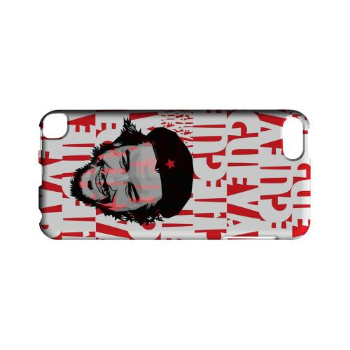 Che Guevara Happy Revolutionary on Red - Geeks Designer Line Revolutionary Series Hard Case for Apple iPod Touch 5