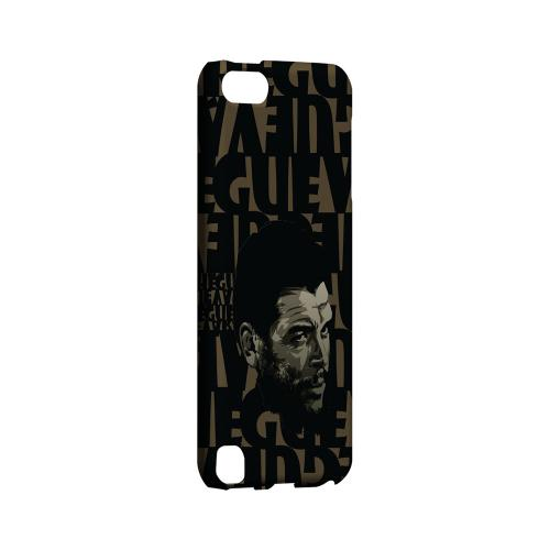 Che Guevara Serious Man on Brown - Geeks Designer Line Revolutionary Series Hard Case for Apple iPod Touch 5