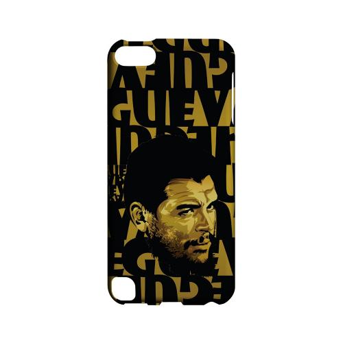 Che Guevara Serious Man on Gold - Geeks Designer Line Revolutionary Series Hard Case for Apple iPod Touch 5