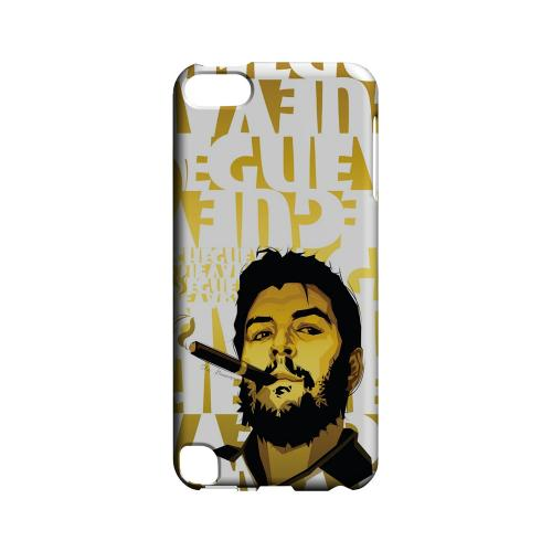 Che Guevara Smoke White Letters on Gold - Geeks Designer Line Revolutionary Series Hard Case for Apple iPod Touch 5