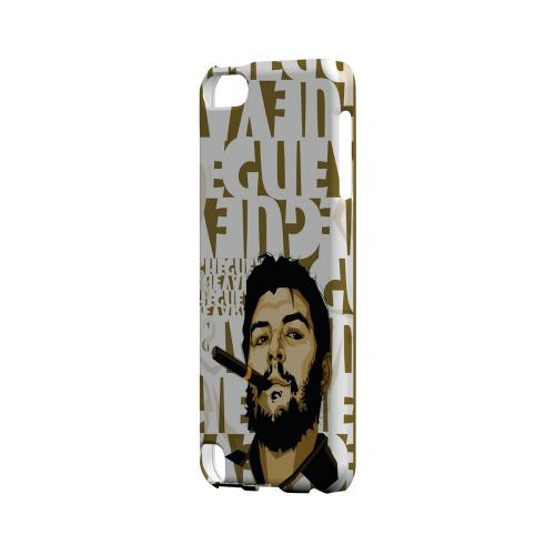 Che Guevara Smoke White Letters - Geeks Designer Line Revolutionary Series Hard Case for Apple iPod Touch 5