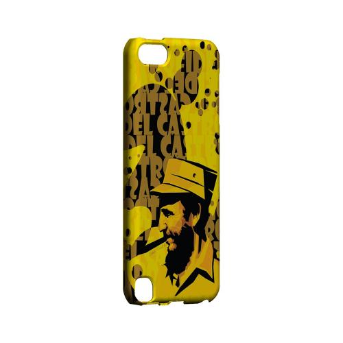 Yellow Fidelity - Geeks Designer Line Revolutionary Series Hard Case for Apple iPod Touch 5