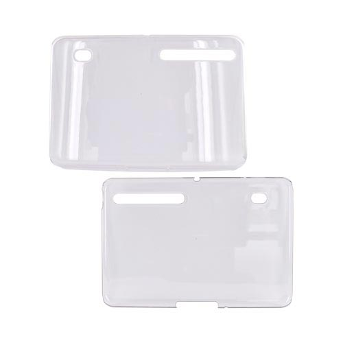 Motorola Xoom Hard Back Cover Case - Transparent Clear