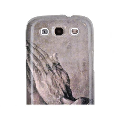 Geeks Designer Line (GDL) Samsung Galaxy S3 Albrecht Durer Matte Hard Back Cover - Praying Hands