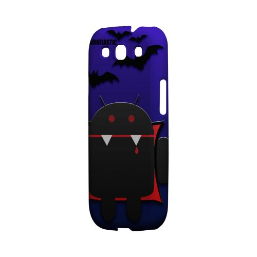 Geeks Designer Line (GDL) Androitastic Samsung Galaxy S3 Matte Hard Back Cover -  Count Droidula