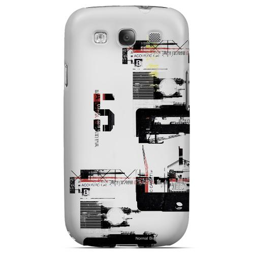 Geeks Designer Line (GDL) Retro Series Samsung Galaxy S3 Matte Hard Back Cover - District 5