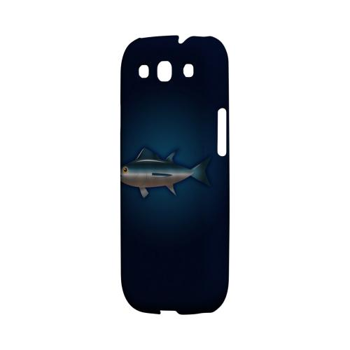 Geeks Designer Line (GDL) Fish Series Samsung Galaxy S3 Matte Hard Back Cover - Bluefin Tuna