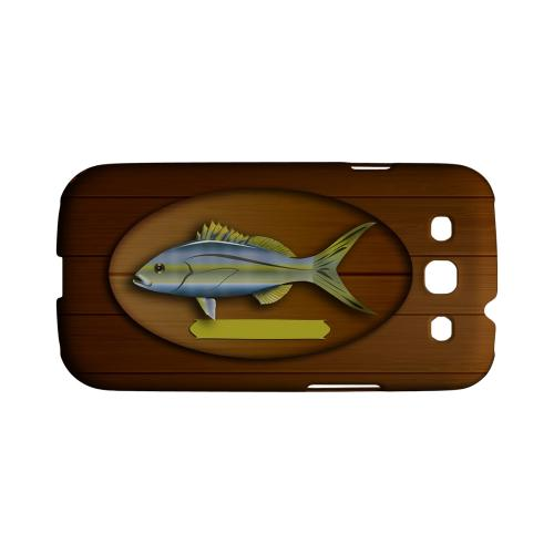 Geeks Designer Line (GDL) Fish Series Samsung Galaxy S3 Matte Hard Back Cover - Fish Trophy