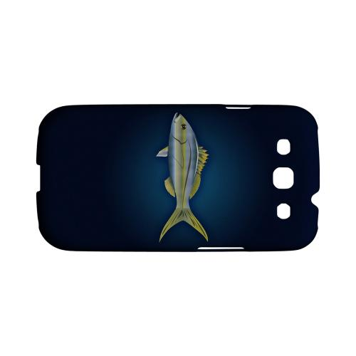Geeks Designer Line (GDL) Fish Series Samsung Galaxy S3 Matte Hard Back Cover - Yellowtail