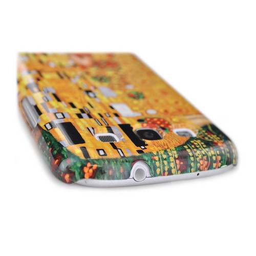 Geeks Designer Line (GDL) Samsung Galaxy S3 Gustav Klimt Matte Hard Back Cover - The Kiss