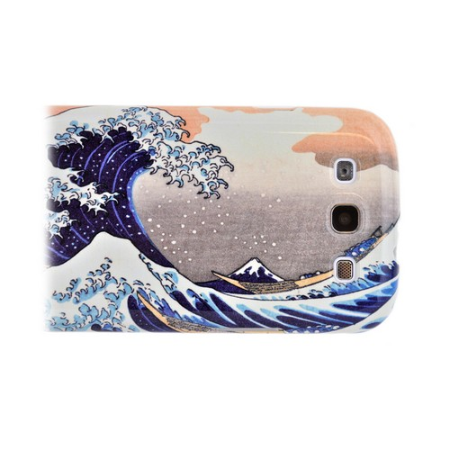 Geeks Designer Line (GDL) Samsung Galaxy S3 Katsushika Hokusai Matte Hard Back Cover - The Great Wave off Kanagawa