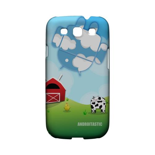 Geeks Designer Line (GDL) Androitastic Samsung Galaxy S3 Matte Hard Back Cover -  Old McDroidald Had A Farm