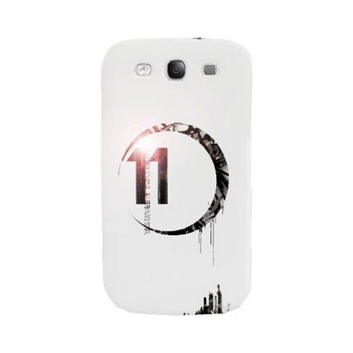 Geeks Designer Line (GDL) Retro Series Samsung Galaxy S3 Matte Hard Back Cover - Moon 11