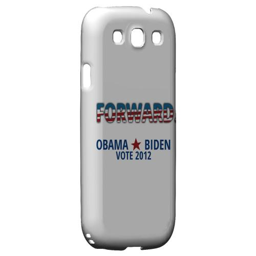 Geeks Designer Line (GDL) 2012 Election Series Samsung Galaxy S3 Matte Hard Back Cover - Obama. Biden. Forward.