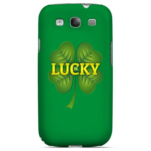 Lucky - Geeks Designer Line Holiday Series Matte Case for Samsung Galaxy S3