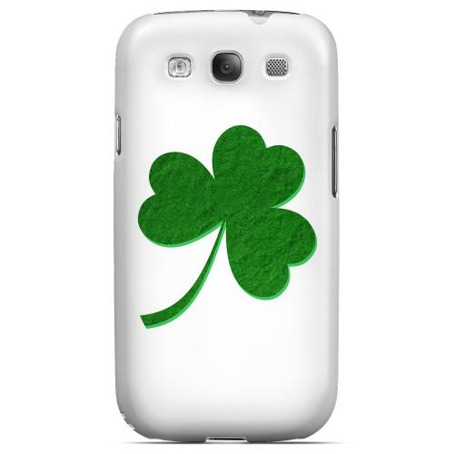 Simple Clover - Geeks Designer Line Holiday Series Matte Case for Samsung Galaxy S3