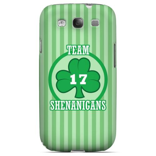 Team Shenanigans - Geeks Designer Line Holiday Series Matte Case for Samsung Galaxy S3