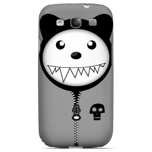 Grimmycat - Geeks Designer Line Hoodie Kitty Series Matte Case for Samsung Galaxy S3